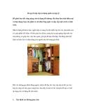 Bí quyết sắp xếp tủ đựng quần áo hợp lý