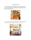 Chọn vật liệu lát sàn bếp