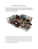 Cân đối không gian sử dụng trong nhà ở