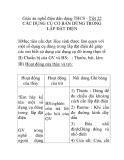 Giáo án nghề điện dân dụng THCS - Tiết 22 CÁC DỤNG CỤ CƠ BẢN DÙNG TRONG LẮP ĐẶT ĐIỆN