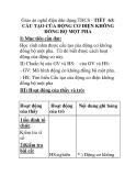 Giáo án nghề điện dân dụng THCS - TIẾT 63: CẤU TẠO CỦA ĐỘNG CƠ ĐIỆN KHÔNG ĐỒNG BỘ MỘT PHA