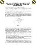 Giáo trình hướng dẫn ứng dụng khái niệm nguyên lý khúc xạ ánh sáng cơ bản của quang hình học p1