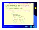 Bài giảng vật lý : Khảo sát dao động điều hòa part 2