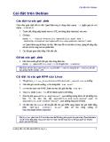 Hướng dẫn Cài đặt OpenOffice.org 2.x part 3