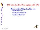 Nhận thức luận và phương pháp luận part 5