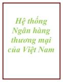 Hệ thống Ngân hàng thương mại của Việt Nam