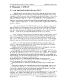 Đề tài 8: Mối quan hệ giữa Việt Nam & ASEAN