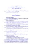 LUẬT THUẾ THU NHẬP CÁ NHÂN 04/2007/QH12