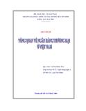 Chuyên đề Tổng quan về ngân hàng thương mại ở Việt Nam