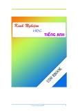 Sách về Kinh Nghiệm Học Tốt Tiếng Anh