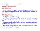 CƠ HỌC ỨNG DỤNG - PHẦN 1 CƠ HỌC VẬT RẮN TUYỆT ĐỐI - CHƯƠNG 2