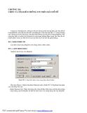Hướng dẫn sử dụng phần mềm đồ họa Mapinfo - Chương 12