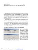 Hướng dẫn sử dụng phần mềm đồ họa Mapinfo - Chương 7