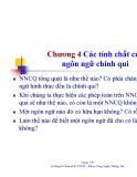 Bài giảng môn lý thuyết ôtômát và ngôn ngữ hình thức - Chương 4