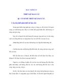 NGUYÊN LÝ CẮT - HỌC TRÌNH 4 THIẾT KẾ DAO CẮT - BÀI 1