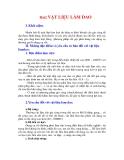 NGUYÊN LÝ CẮT - HỌC TRÌNH 1 NGUYÊN LÝ CHUNG - BÀI 2