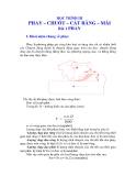 NGUYÊN LÝ CẮT - HỌC TRÌNH 3 PHAY – CHUỐT – CẮT RĂNG – MÀI - BÀI 1