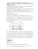 Giáo trình Đo lường và Điều khiển xa – Chương 2