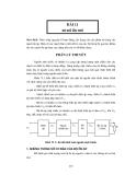 Thực tập vô tuyến đại cương - Bài 11