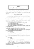 Thực tập vô tuyến đại cương - Bài 4