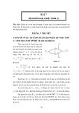 Thực tập vô tuyến đại cương - Bài 7