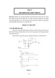 Thực tập vô tuyến đại cương - Bài 9