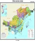 Khái quát địa lí tự nhiên của tỉnh Quảng Ninh