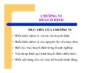 Bài giảng Nguyên lý Quản trị học - Chương 6