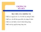 Bài giảng Nguyên lý Quản trị học - Chương 7