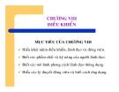 Bài giảng Nguyên lý Quản trị học - Chương 8 Điều khiển