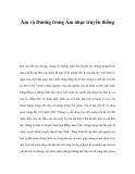 Âm và Dương trong Âm nhạc truyền thống