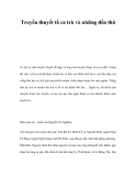 Truyền thuyết tổ ca trù và những đền thờ