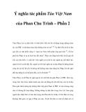 Ý nghĩa tác phẩm Tân Việt Nam của Phan Chu Trinh – Phần 2