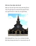 Đến Kon Tum thăm nhà thờ gỗ