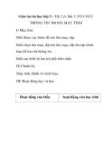 Giáo án tin học lớp 5 - Tiết 5,6: Bài 3: TỔ CHỨC THÔNG TIN TRONG MÁY TÍNH I/ Mục