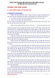 Giáo trình hướng dẫn phân tích đặc điểm chung về kết cấu của cầu kim loại p1