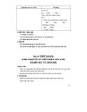 Thiết kế bài giảng Sinh Học 12 nâng cao tập 1 part 5