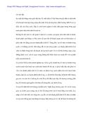 Kế tóan cho vay trong nước tại Ngân Hàng No&PTNT Từ Liêm - 1