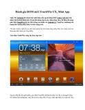 Đánh gia ROM mới TouchWiz UX, Mini App Ngày 5/8, Samsung đã chính thức giới thiệu