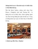 Những khách sạn có tầm nhìn tuyệt vời nhất