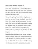 Du lịch Hong Kong - đảo ngọc của châu Á