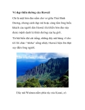 Vẻ đẹp thiên đường của Hawaii