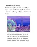 Thành phố Đài Bắc xinh đẹp