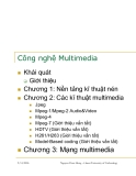 Công nghệ Multimedia- Chương 1: Nền tảng kĩ thuật nén- vuson.tk