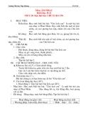 Giáo án âm nhạc lớp 2: Học hát bài: CHÚ ẾCH CON