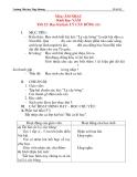 Giáo án âm nhạc lớp 5:  Học bài hát: LÝ CÂY BÔNG (tiết 2)