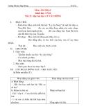 Giáo án âm nhạc lớp 5: Học bài hát: LÝ CÂY BÔNG (tiết 3)