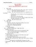 Giáo án âm nhạc lớp 2: Học hát bài: HOA LÁ MÙA XUÂN