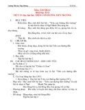 Giáo án âm nhạc lớp 2: Học hát bài: TRÊN CON ĐƯỜNG ĐẾN TRƯỜNG