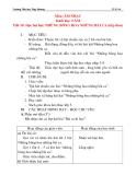Giáo án âm nhạc lớp 4: Học bài hát: NHỮNG BÔNG HOA NHỮNG BÀI CA (tiết 2)